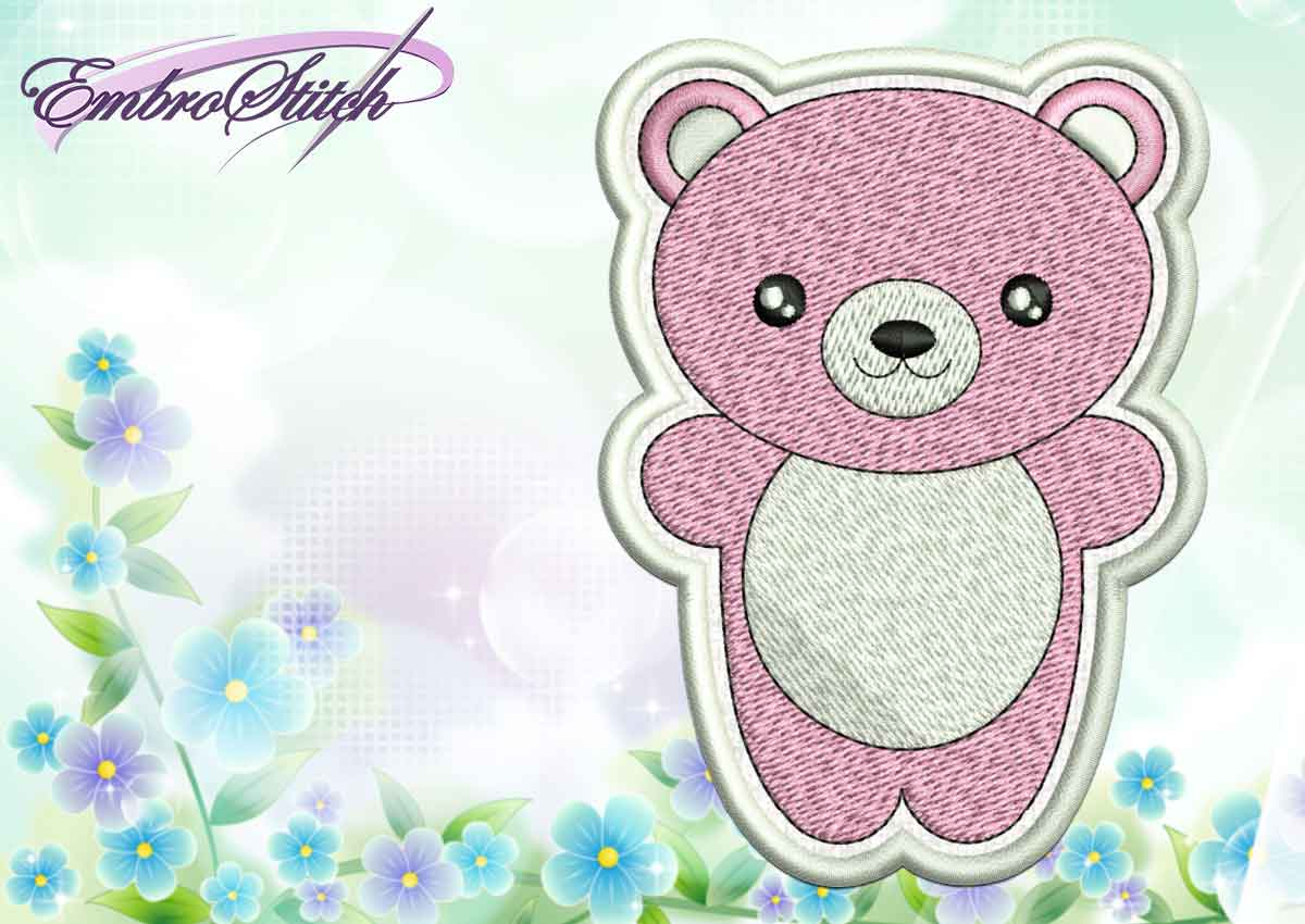 Kawaii Animals Collection Embroidery Designs Embrostitch