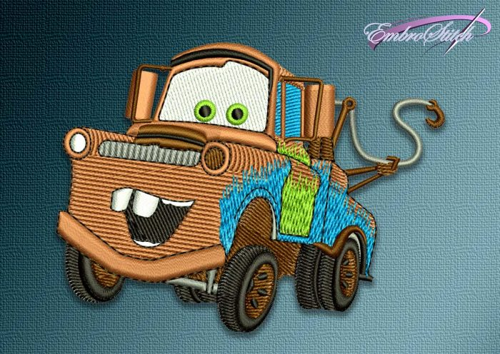 The embroidery design Car Mater