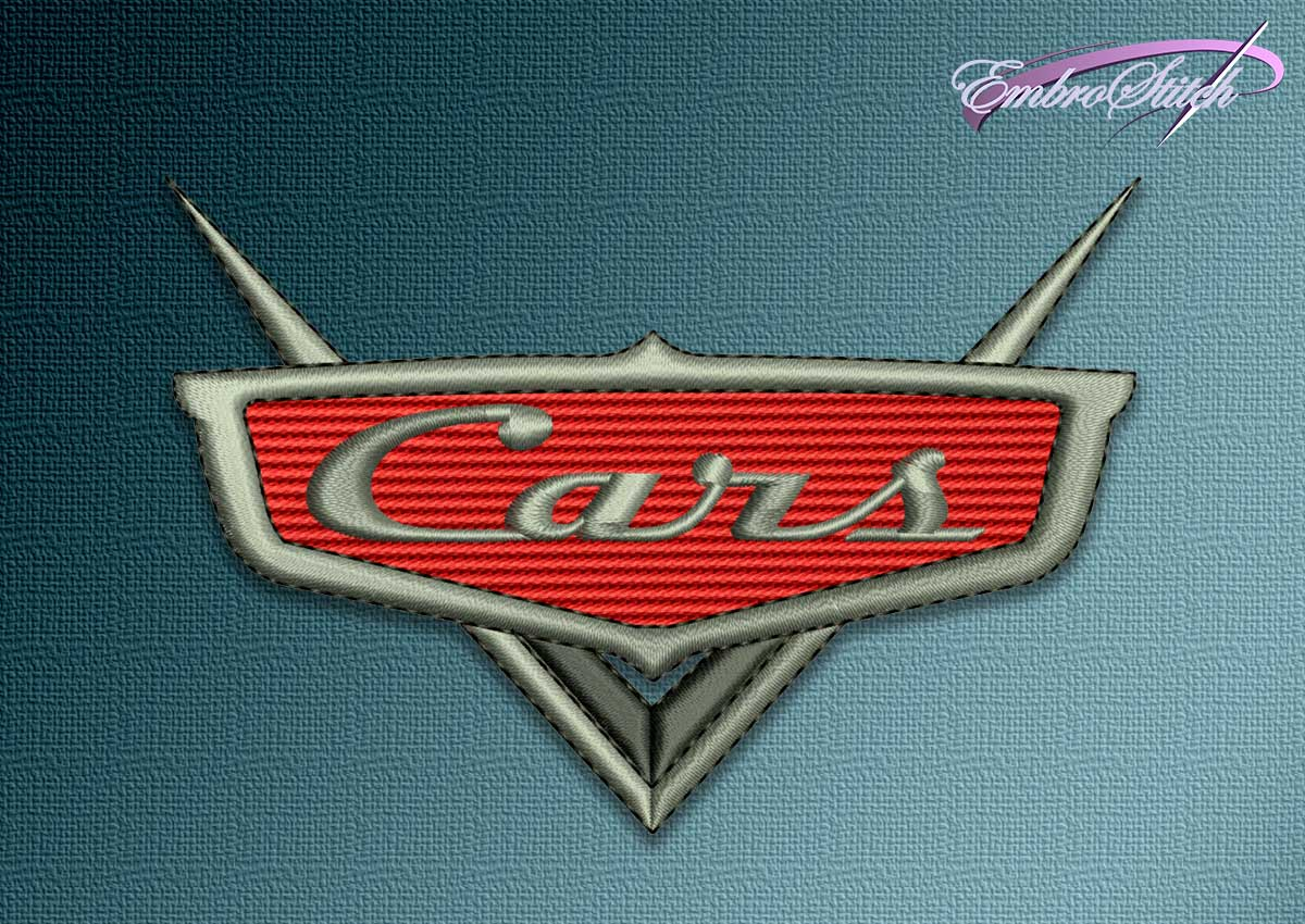 The embroidery design Symbol of Cartoons Cars