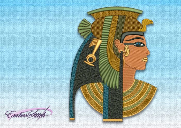 The embroidery design Cleopatra