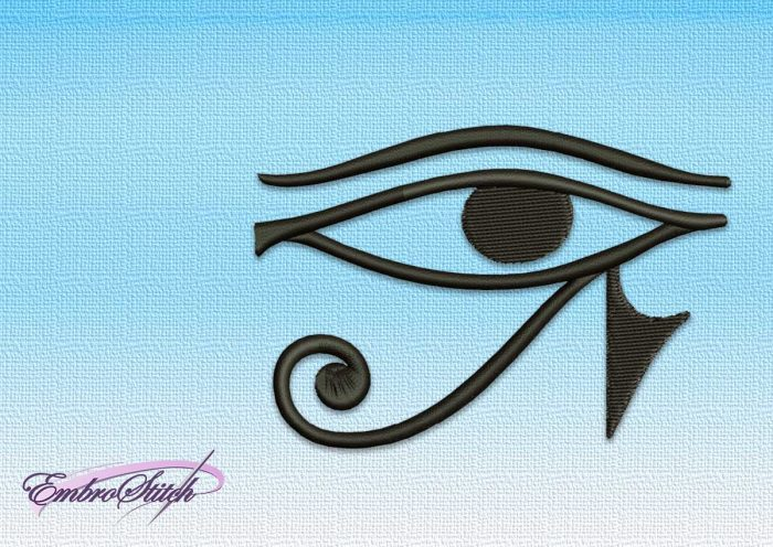 The embroidery design Eye of Horus