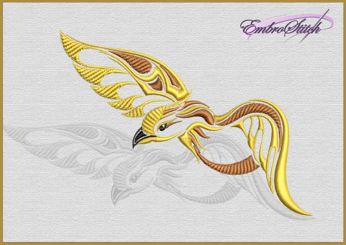 The embroidery design Fluttering Snake