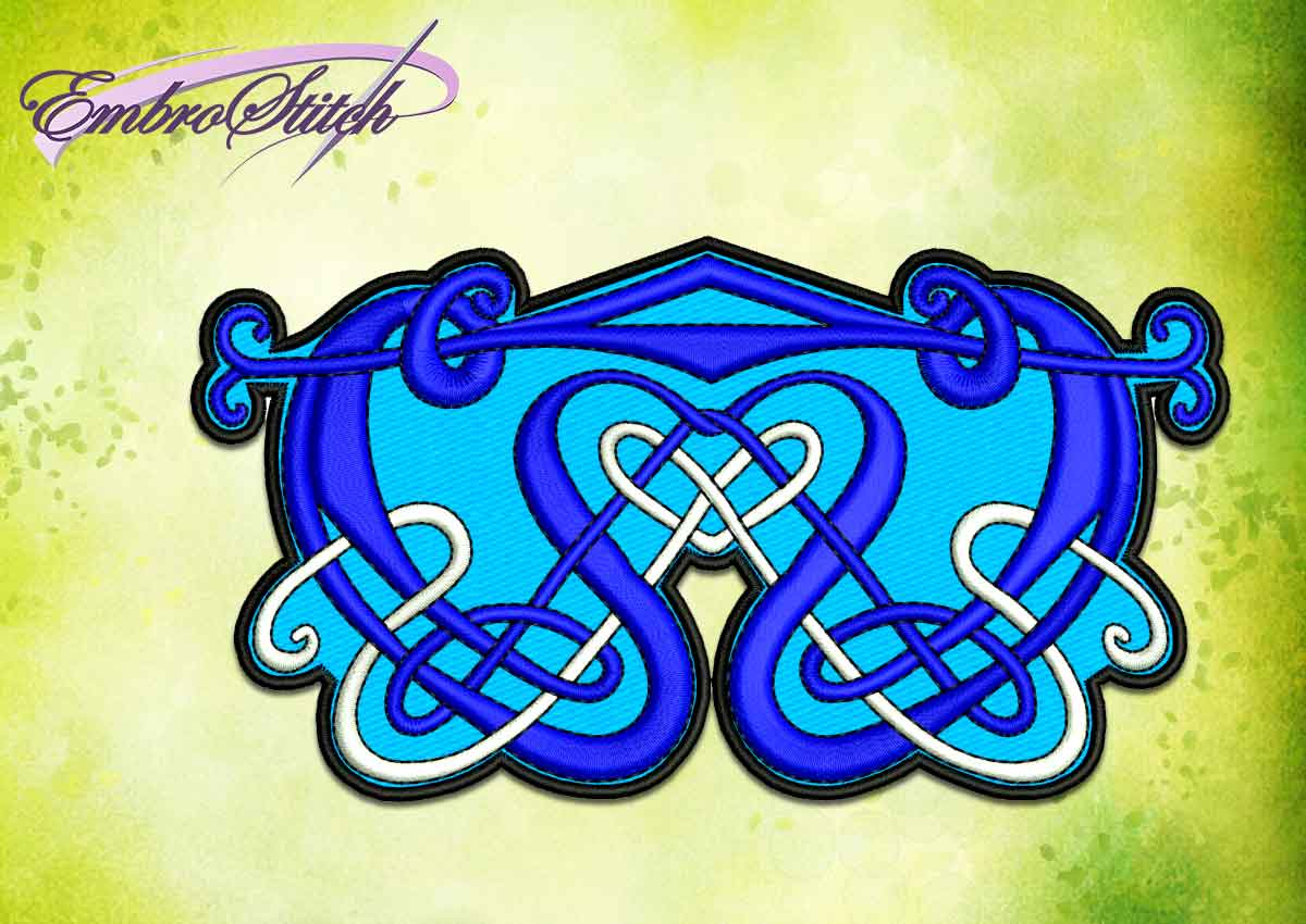 The embroidery design Traditional celtic pattern