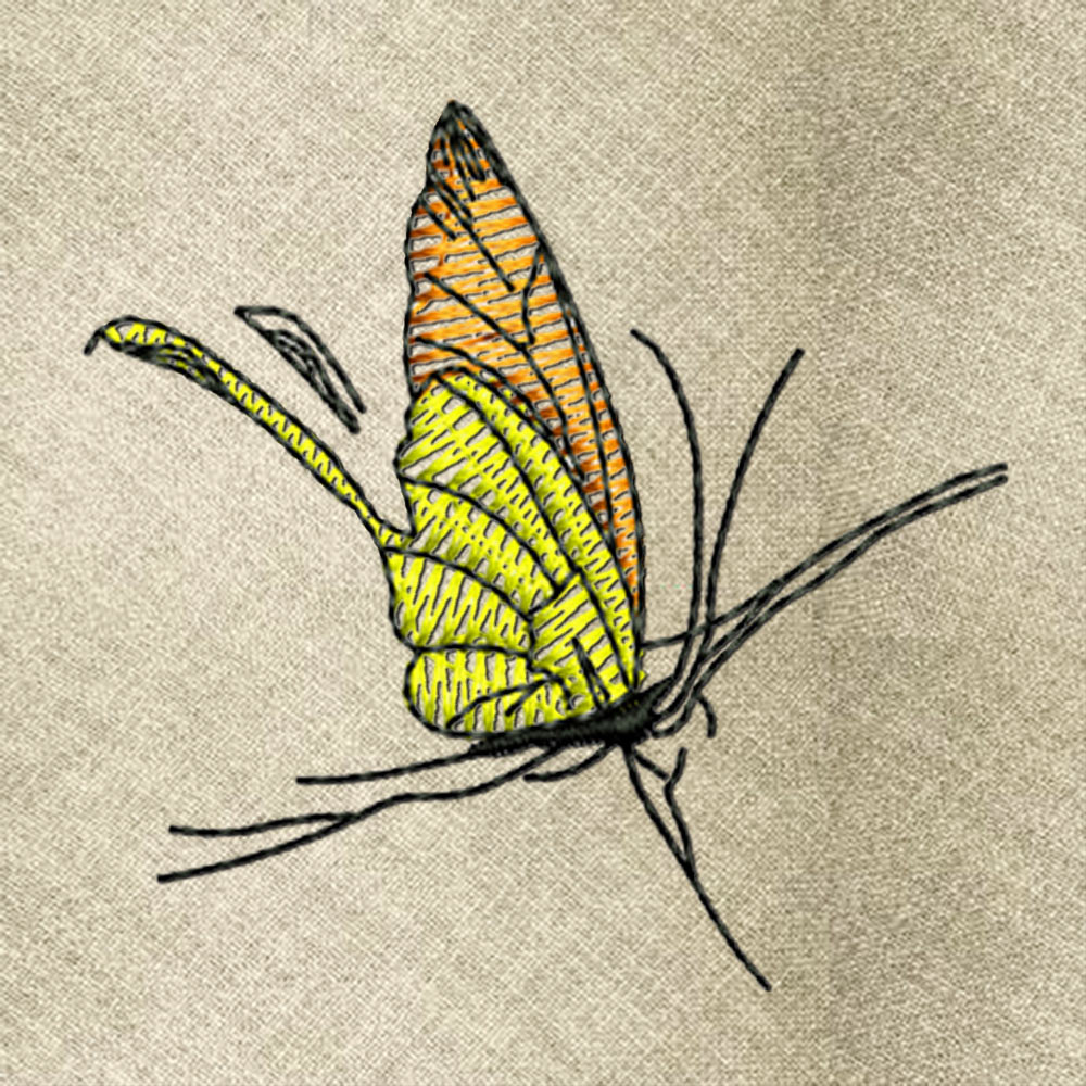 Butterfly1 embroidery design