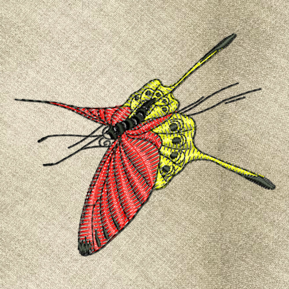 Butterfly2 embroidery design