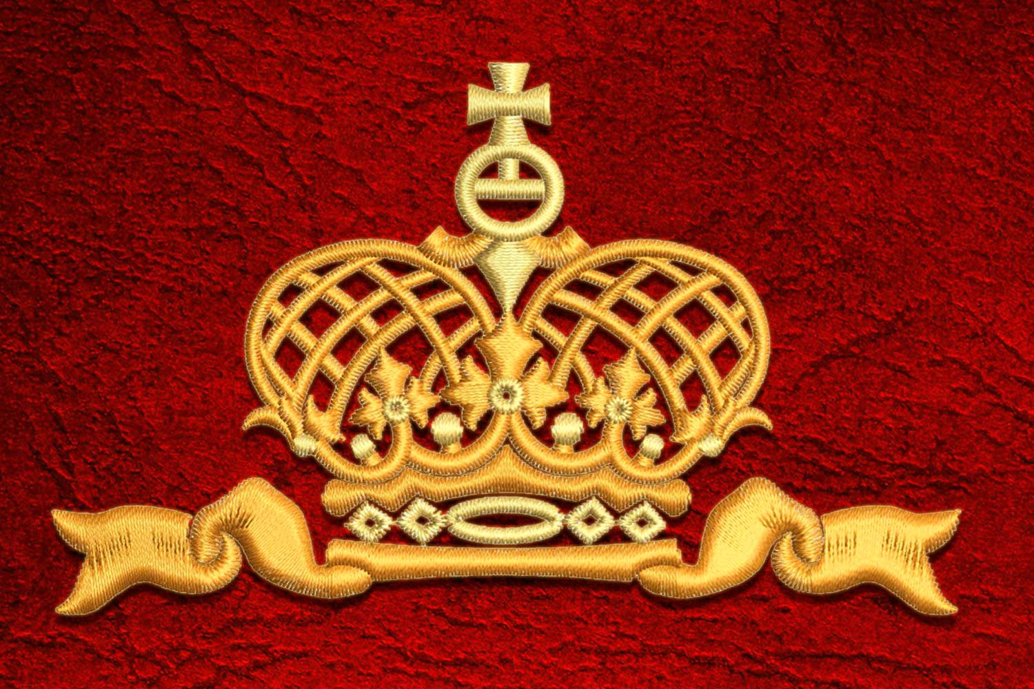 Crown1 embroidery design