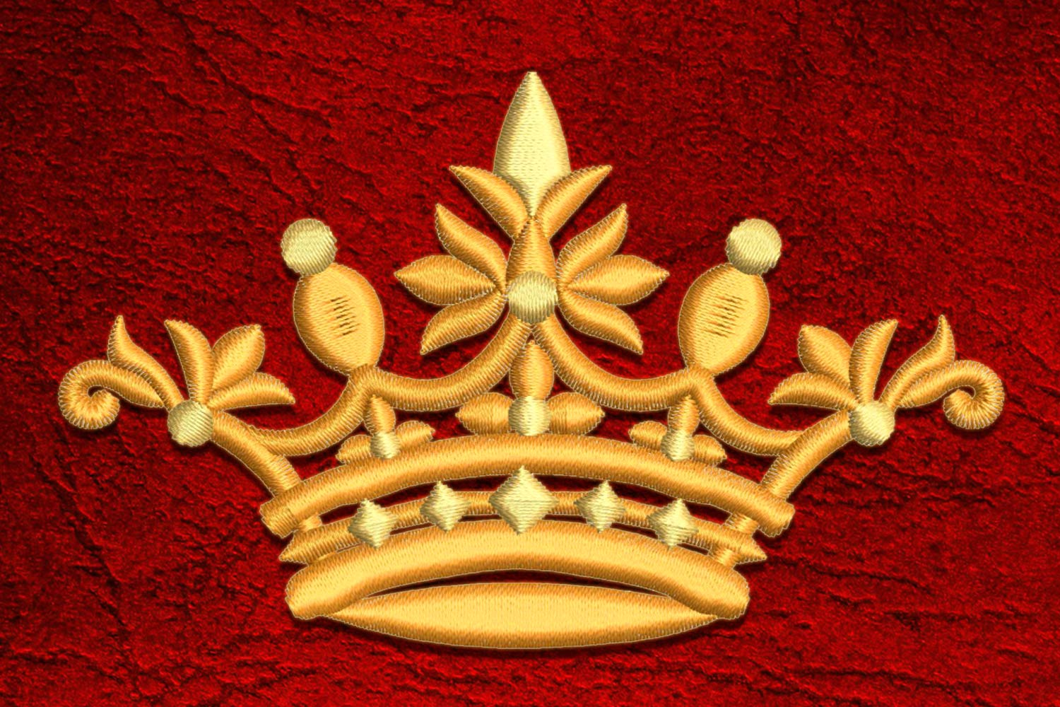Crown2 embroidery design