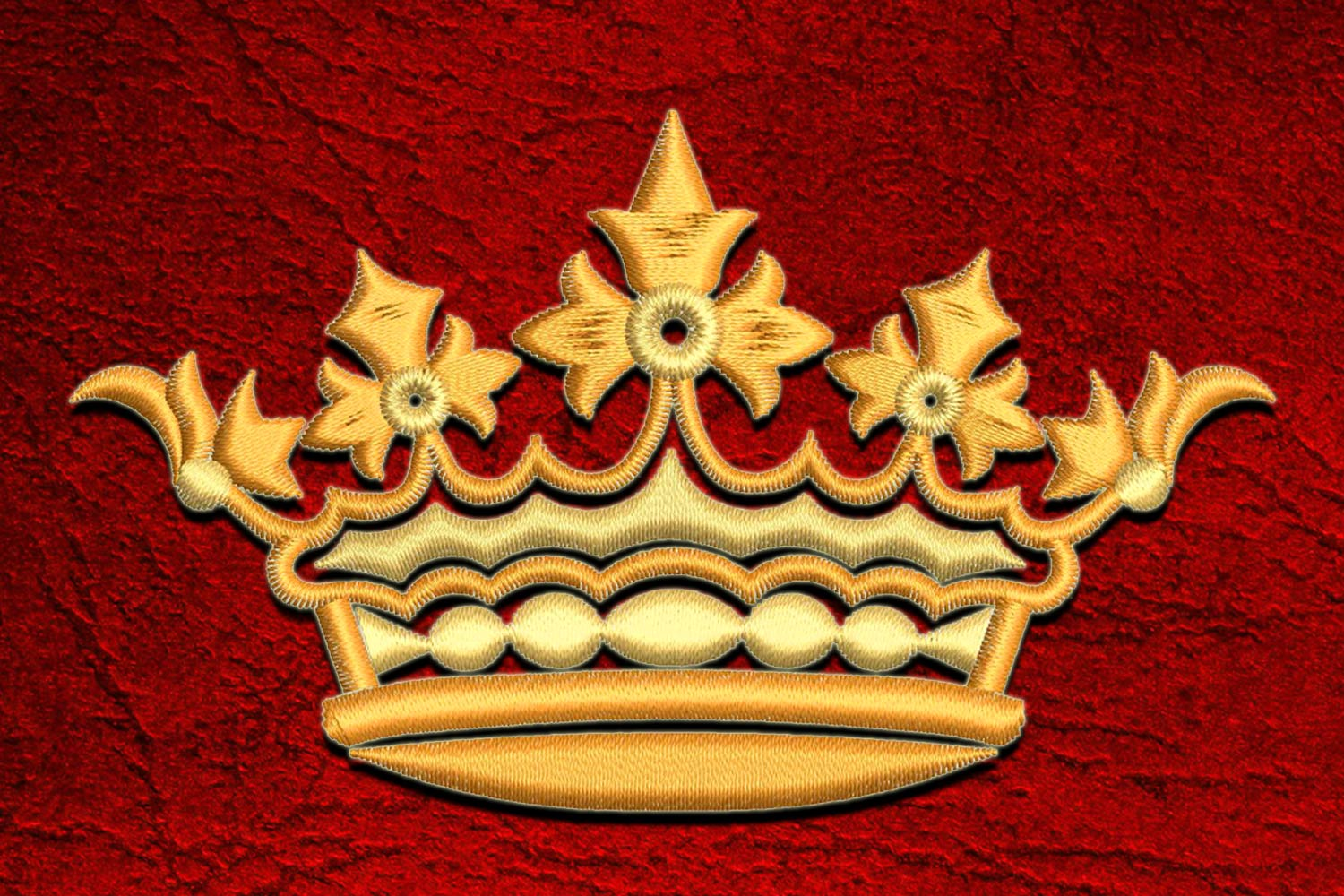 Crown3 embroidery design
