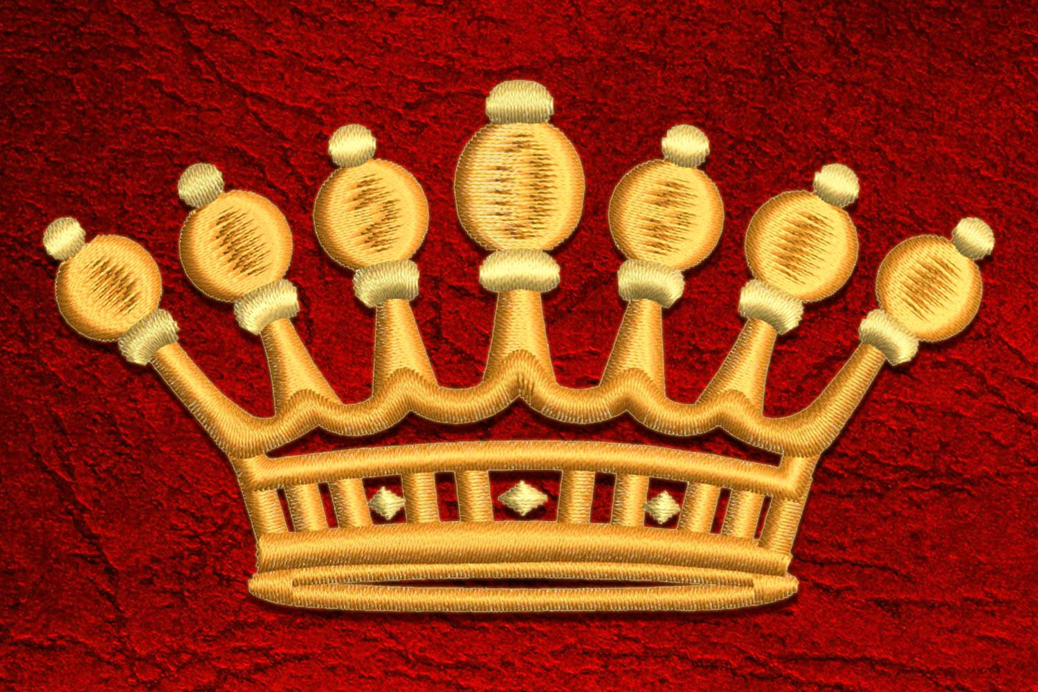 Crown8 embroidery design