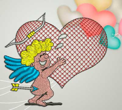 cupid with arrow