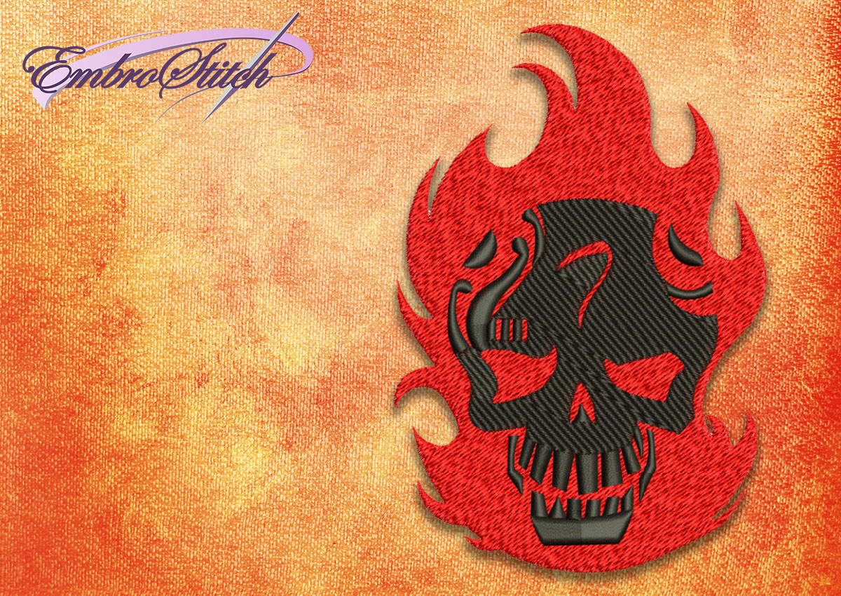 The embroidery design Diablo