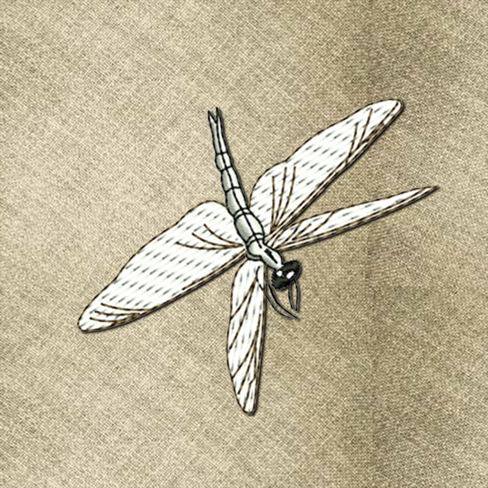Dragonfly1 embroidery design
