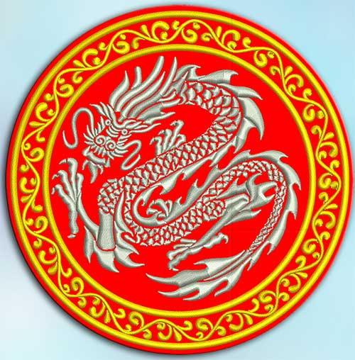 dragon embroidery paterns