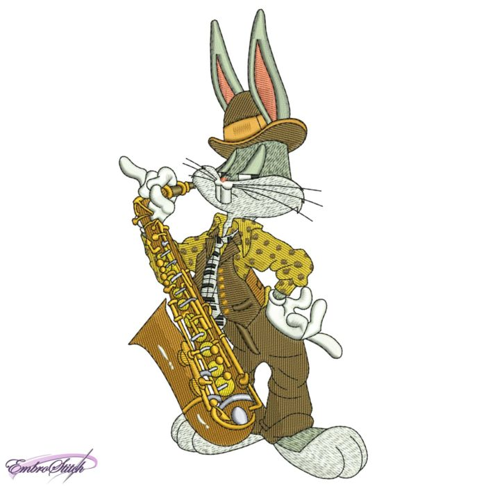 Hare With Saxophone