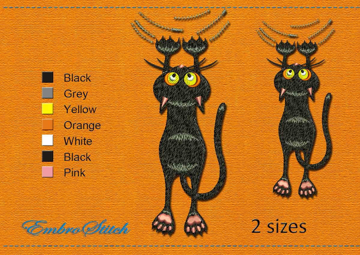 This Little Bandit Halloween design was digitized and embroidered by Embrostitch studio