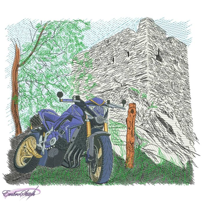 Motorcycle Fortress Tree