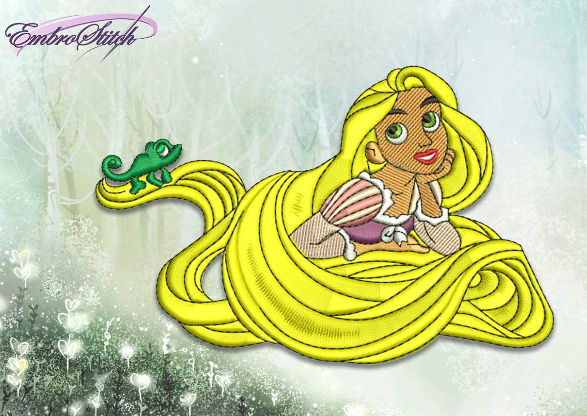 The embroidery design Rapunzel