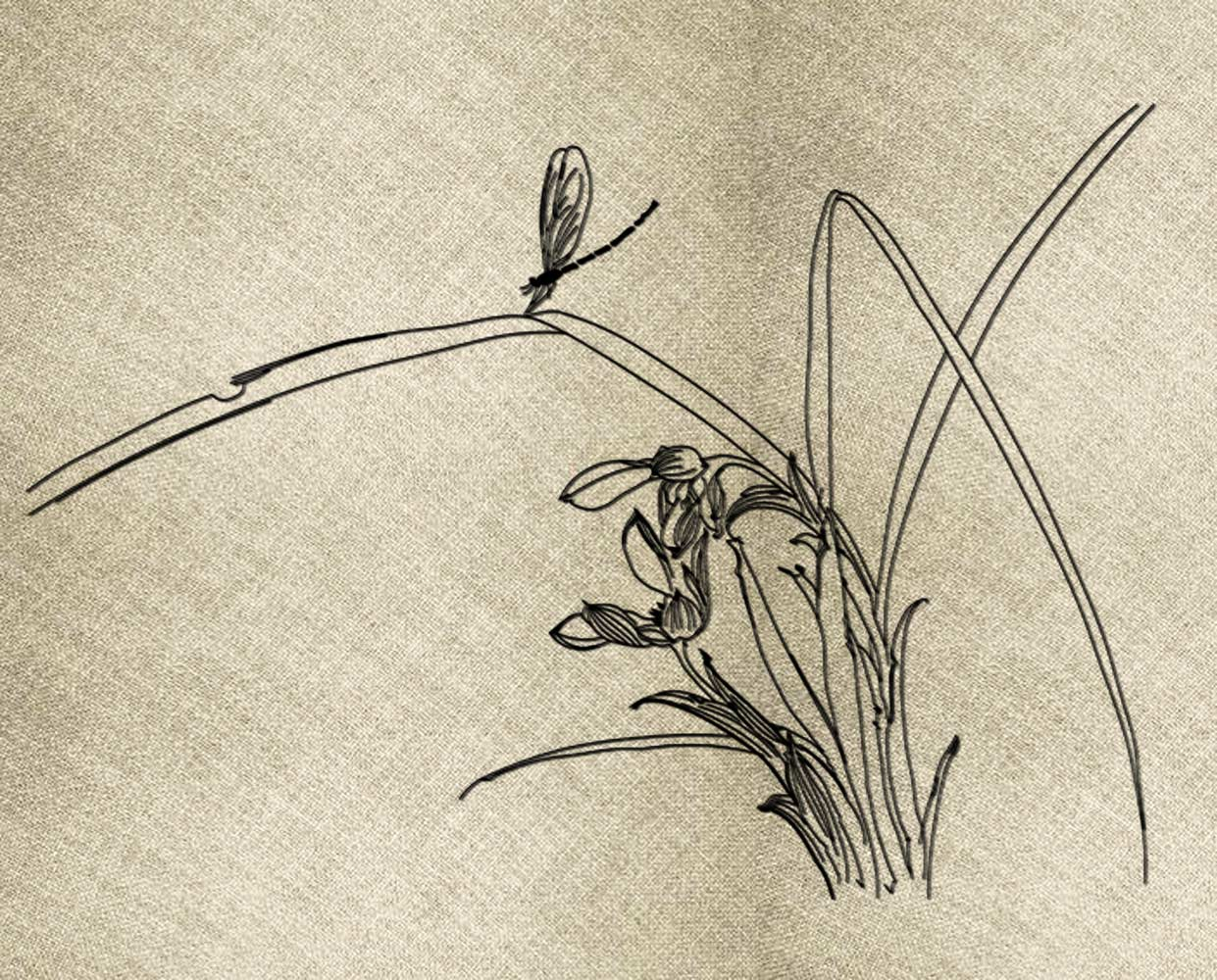 Reed Quick Stitch embroidery design