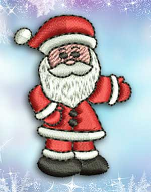 Merry Christmas and Santa Claus