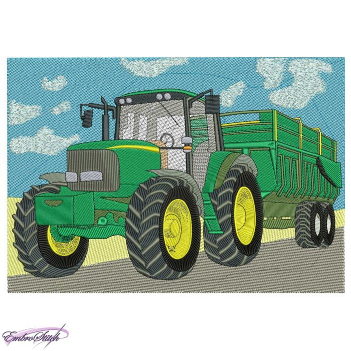 Tractor for Transportation